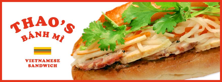 テイクアウトでおいしいベトナムサンドウィッチ Thao's(タオズ)